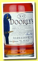 Doorly's XO (40%, OB, Barbados blend, +/-2013)