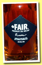 Fair. 5 yo 'Belize' (40%, Fair. Spirits, Belize, 2013)