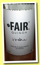 Fair (40%, OB, France, quinoa vodka, +/-2013)