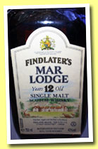 Findlater's Mar Lodge 12 yo (43%, Findlater, single malt, France, +/-1985)