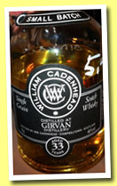 Girvan 33 yo 1979/2013 (46%, Cadenhead, Small Batch, 222 botles)