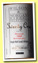 Glenburgie 21 yo 1992/2013 (50%, Wilson & Morgan, casks #4895-4900)