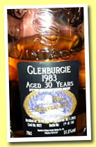 Glenburgie 30 yo 1983/2013 (51.5%, Signatory for 30th Anniversary Waldhaus am See, cask #9822, 164 bottles)