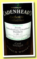 Glendullan-Glenlivet 31 yo 1966/1997 (49.7%, Cadenhead, Authentic Collection)