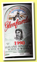 Glenfarclas 1990/2013 (46%, OB, Limited Rare Bottling, Edition No.17, Alexander Selkirk, 1200 bottles)