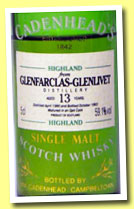 Glenfarclas-Glenlivet 13 yo 1980/1993 (59.1%, Cadenhead, Authentic Collection)