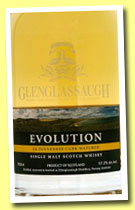 Glenglassaugh 'Evolution' (50%, OB, +/-2013)