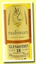 Glenrothes 18 yo 1994/2013 (50.7%, The Maltman, bourbon, cask #7608, 336 bottles)