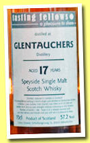 Glentauchers 17 yo 1996/2014 (57.2%, Tasting Fellows, barrel, 146 bottles)