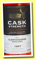 Glentauchers 1997/2013 (54.3%, Gordon & MacPhail for The Whisky Exchange, refill sherry, cask #5580)