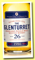 Glenturret 26 yo 1986/2013 (46.8%, Hunter Laing licensed bottling, 2400 bottles)