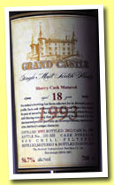 Grand Castle 18 yo 1993/2012 (56.7%, The Scottish Independent Distillers Co., sherry cask, cask #3598, 600 bottles)