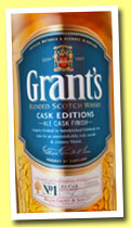 William Grant's 'Ale Cask Reserve' (40%, OB, Scotch blend, +/-2014)