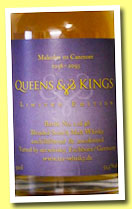 Malcolm III Canmore (55.5%, Mr. Whisky, Queens & Kings, blended malt, 48 bottles)