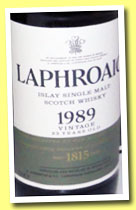Laphroaig 23 yo 1989/2013 (48.9%, OB, for The Nordics, 1800 bottles)