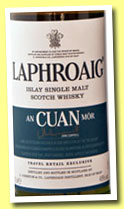 Laphroaig 'An Cuan Mor' (48%, OB, travel retail, 2013)