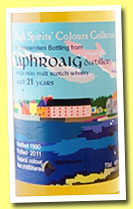 Laphroaig 21 yo 1990/2011 (46%, High Spirits, Colour Collection)