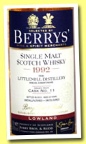 Littlemill 20 yo 1992/2013 (54.5%, Berry Bros & Rudd, cask #11)