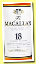 Macallan 18 yo 1995 'Sherry Oak' (43%, OB, +/-2013)