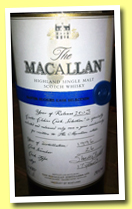 Macallan 17 yo 1996/2013 'Easter Elchies' (55.3%, OB, sherry butt, cask #26)