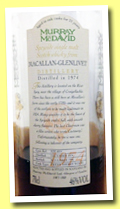 Macallan-Glenlivet 21 yo 1974/1996 (46%, Murray McDavid, fresh sherry, cask #MM6024)