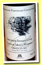 Macallan 1980/2010 (49.6%, Jack Wiebers, Prenzlow Portfolio Colection, sherry butt, cask #16447, 120 bottles)