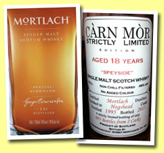 Mortlach 'Special Strength' (49%, OB, 2014)