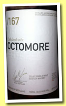 Octomore 6 yo 2004/2011 '167 The Beast – Futures II' (60.5%, OB, 2011)
