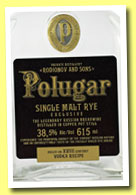 Polugar 'Single Malt Rye' (38.5%, OB, Poland, unaged, +/-2013)
