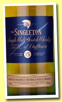 Singleton of Dufftown 15 yo (40%, OB, +/-2013)