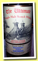 Tamdhu 8 yo 2005/2013 (59.6%, The Ultimate, Van Wees, sherry, cask #347, 724 bottles)