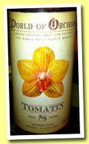 Tomatin 8 yo (58.6%, Jack Wiebers, World of Orchids, bourbon cask, 119 bottles, 2013)