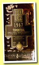 Tomintoul 43 yo 1967/2010 (46%, Mo Or Collection, bourbon hogshead, cask #4691, 215 bottles)