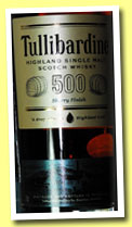 Tullibardine '500' (43%, OB, sherry finish, +/-2013)