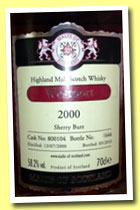 Westport 2000/2010 (58.2%, Malts of Scotland, sherry butt, cask #8001004)
