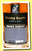 Whisky Castle 'Smoke Barley' (43%, OB, Switzerland, cask #483, +/-2011)