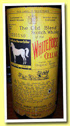 White Horse (70° proof, OB, bottled 1960)