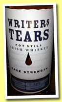 Writer's Tears Cask Strength (52%, Irish, Pot Still, 1800 bottles, 2012)