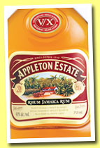 Appleton Estate 'V/X' (40%, OB, Jamaica, +/-2014)