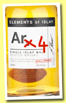 Ar4 (58.1%, Specialty Drinks, Elements of Islay, 2014, 50cl)