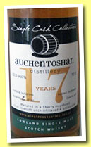 Auchenstoshan 17 yo 1995/2013 (53.5%, Single Cask Collection, sherry butt, 263 bottles)