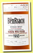 Benriach 20 yo 1993/2013 (54.2%, OB, La Maison du Whisky, Madeira wood finish, cask #1878)