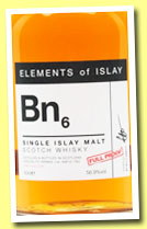 Bn6 (56.9%%, Specialty Drinks, Elements of Islay, 2014)