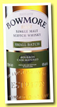 Bowmore 'Small Batch' (40%, OB, +/-2014)
