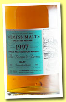 Bunnahabhain 1997/2014 'The Bosun's Dram' (46%, Wemyss Malts, 380 bottles)