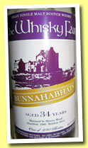 Bunnahabhain 34 yo 1980/2014 (45.9%, The Whisky Fair, sherry wood, 230 bottles)