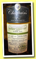 Caol Ila 12 yo 2001/2014 (43%, Chieftain's, hogshead, casks #309965-309966, 911 bottles)