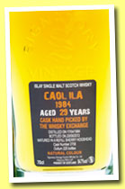 Caol Ila 29 yo 1984/2013 (54.7%, Signatory for The Whisky Exchange, refill sherry, cask #2758, 225 bottles)