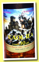 Caol Ila 30 yo 1983/2013 (46%, Whisky for you, cask #1460)