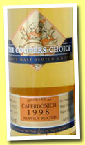 Caperdonich 14 yo 1998/2012 (46%, Coopers Choice, heavily peated, hogshead, 360 bottles)
